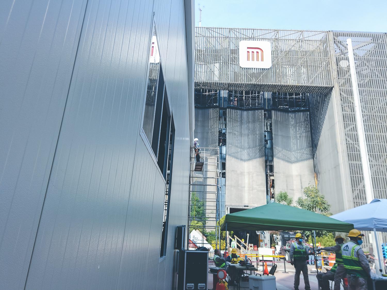 Multipanel para caseta de metro de la CDMX